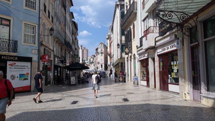 Portugál camino, Coimbra