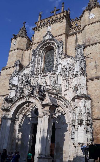 Portugál camino, Coimbra, Santa Cruz templom
