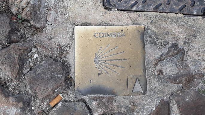 Portugál camino, Coimbra, camino jel