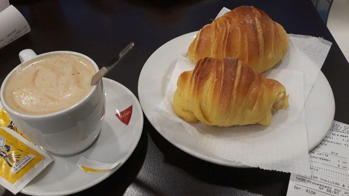 Portugál camino, reggeli