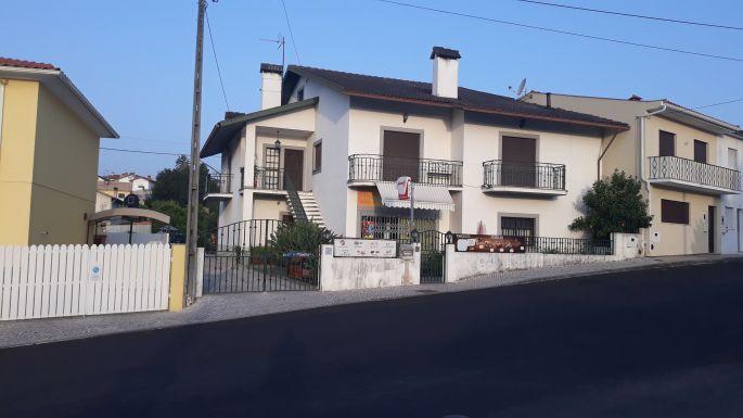 Portugál camino, szép házak