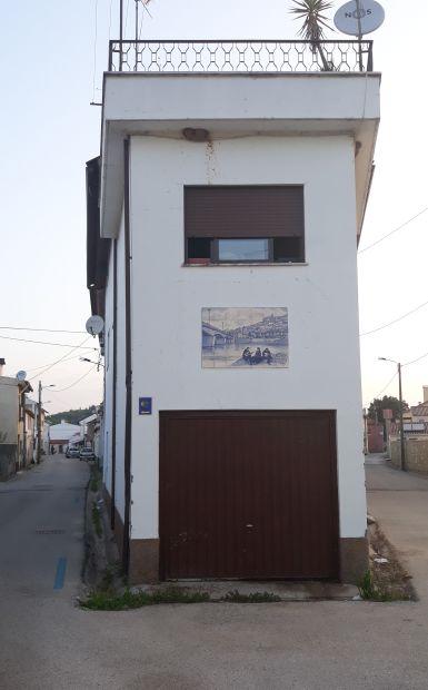 Portugál camino, azulejo