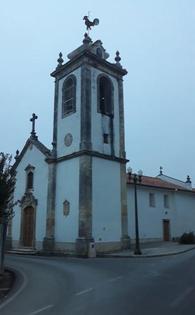 Portugál camino, templom