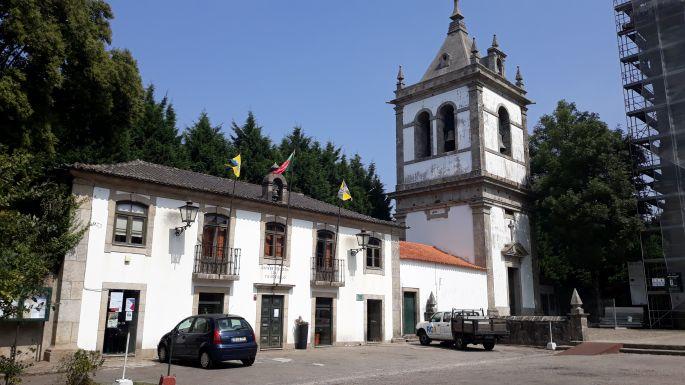 Portugál camino, Grijó, kolostor