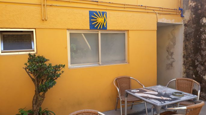 Portugál camino, Grijó, albergue