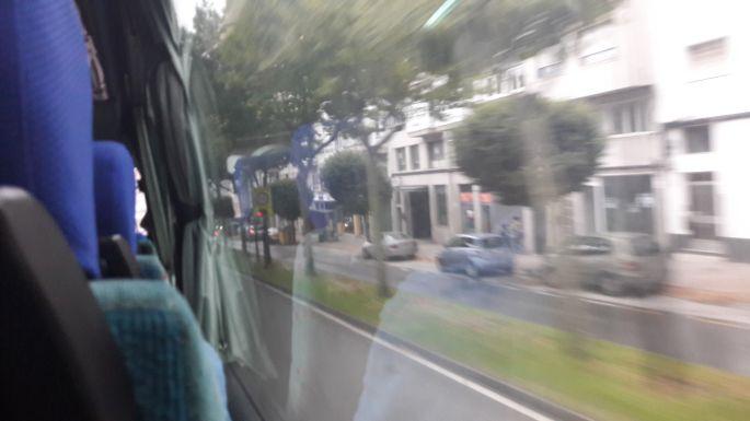 El Camino, Santiago, indulás Muxiába busszal