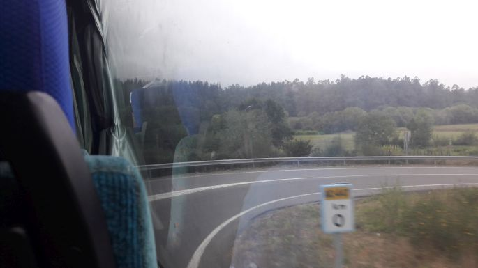 El Camino, Muxia felé busszal