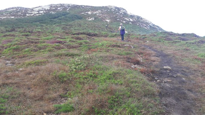El Camino, Muxia, a Dos Faros egy szakasza