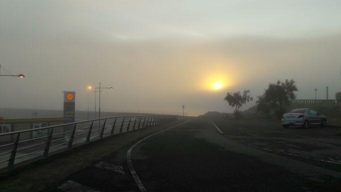 El Camino, Muxia reggel a ködben