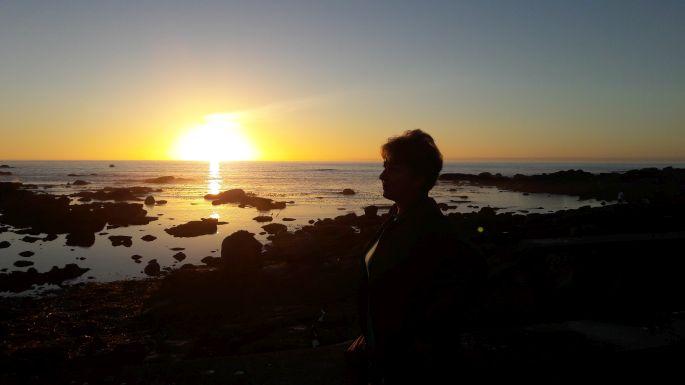 El Camino, Muxia, naplemente