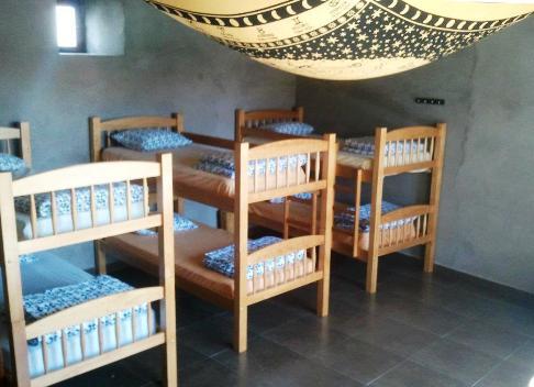 El Camino El Ganso Albergue Gabino szoba.jpg