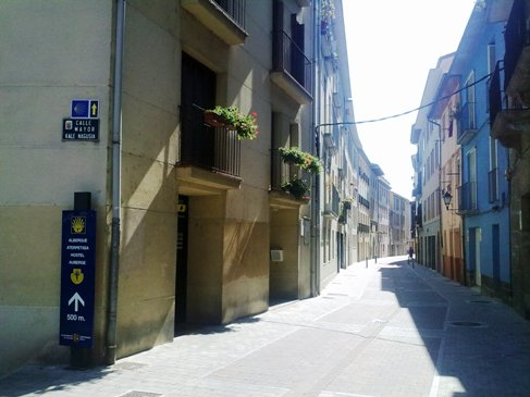 El Camino zarandokut Pamplona kulvaros.jpg