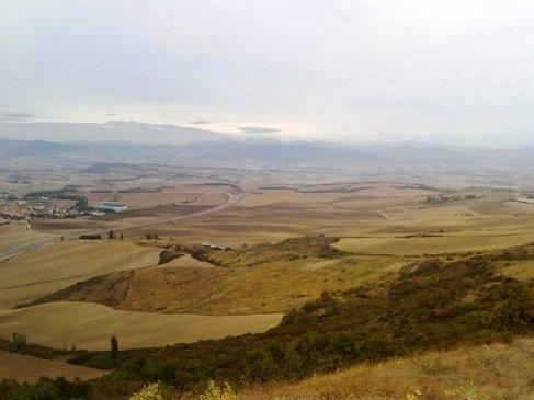 El Camino kilatas az Alto de Pedron hegyrol.jpg