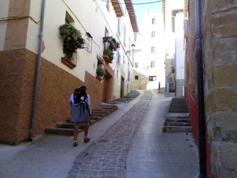 cirauqui meredek utca az el camino vonalan.jpg