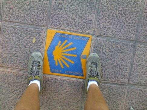 el camino de santiago kagylo jel az uton.jpg