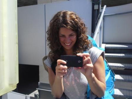 Márti is kattogtatta a fényképeket...