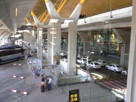A madridi T4 terminál.