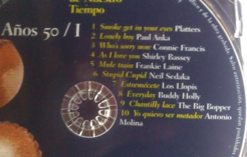 Ezt a CD-t annyiszor játszottuk, hogy a végén már kívülről fújtuk a dalokat!
