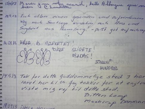 Hála és szeretet!<br />Béke szigete!<br />Áldás!<br />Zsuzsi, Hungria