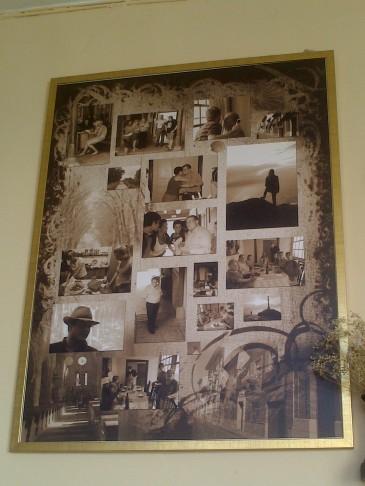 A fényképekből összeállított montázst a Szent Jakabosok ajándékozták Don Manuelnek.