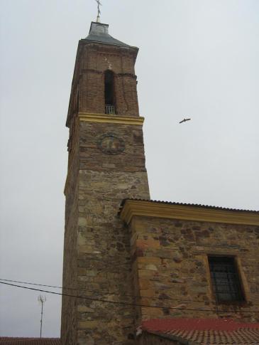 A templom torony.