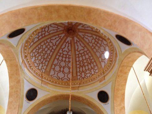 A kupola.