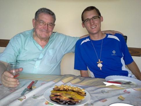 Don Manuel és Kristóf. Szerintem ez nagyon jó kép róluk. Nem azért, mert én készítettem. :-)