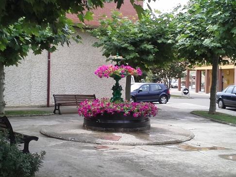 Egy szép kis tér Hospital de Órbigóban.