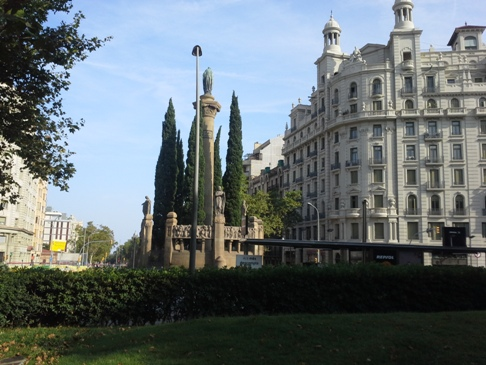 Barcelona - Mossen Jacint Verdaguer tér