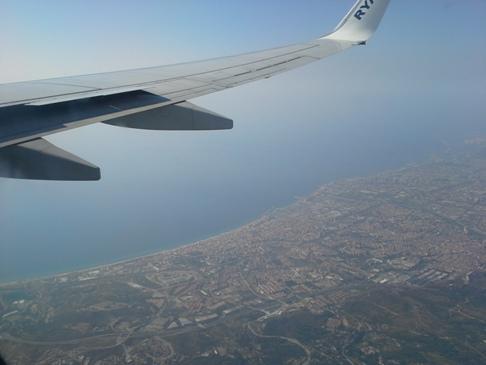 Átrepültünk Barcelona felett...!