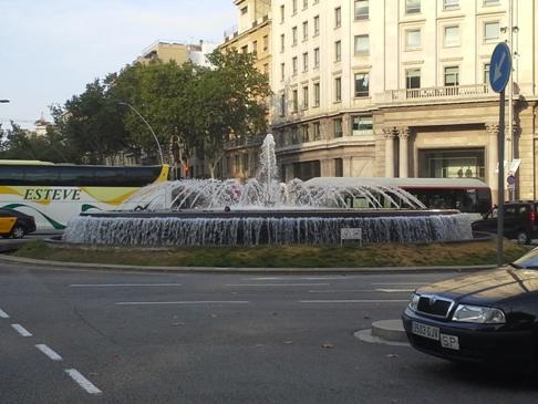 Barcelona - szökőkút