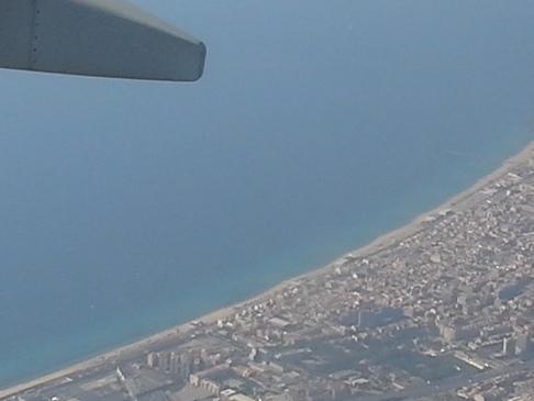 A tenger felé repülünk...
