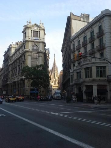 Barcelona - gótikus negyed