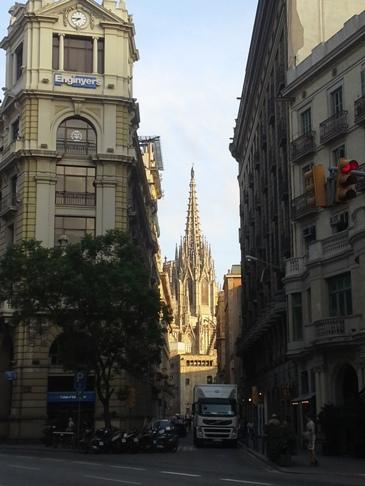 Barcelona - gótikus negyed - katedrális