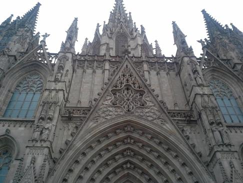 Barcelona katedrális.