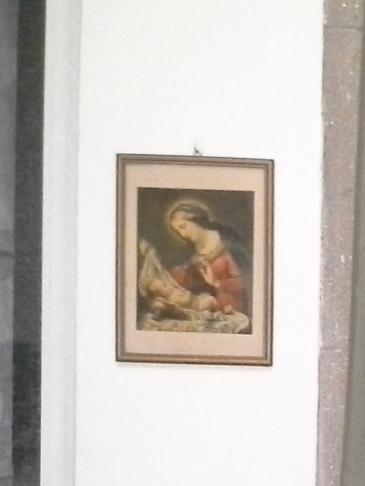 Madonna a kis Jézussal.