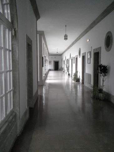 A szobánk előtti folyosó.