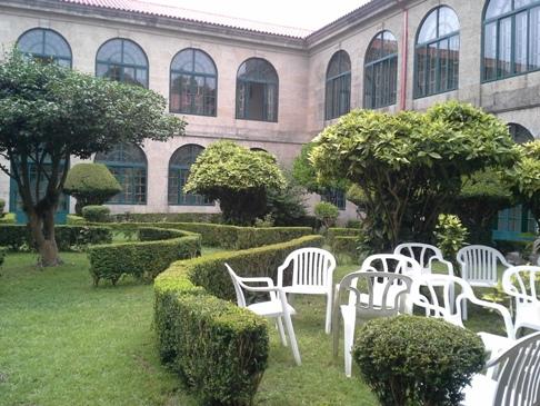A kerti székeket is belaktuk. :-)