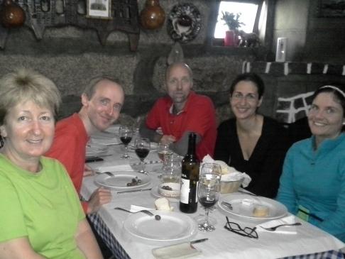 Balról jobbra: Andrea, Dominik, Nikolas, Sarah, Carolin