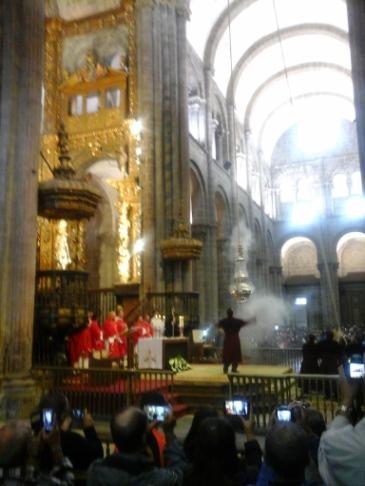 Mise a katedrálisban.
