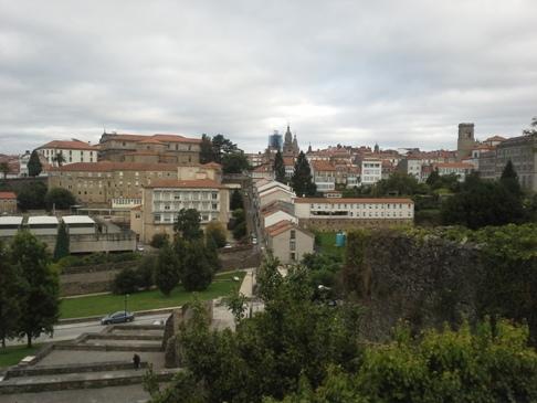 Kilátás a Seminario Menor elől fotózva 2.