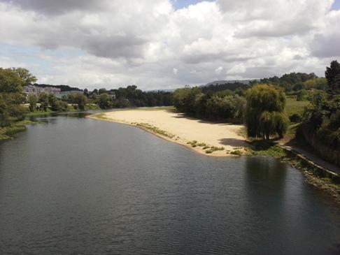 Rio Cávado a másik irányból.