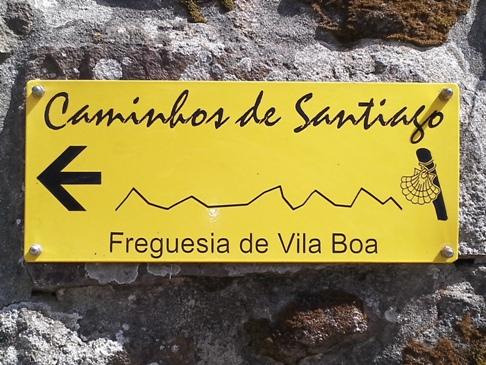 Az irány Santiago felé.