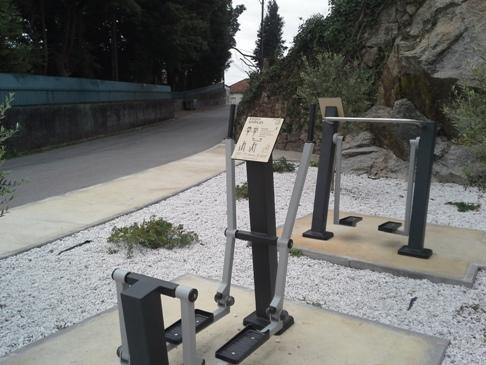 Camino Portuguése kondipark.