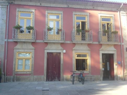 Albergue Municipal, Ponte de Lima - amely mellett sikerült elmennem. :-)
