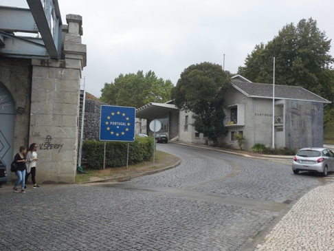 Portugál határ