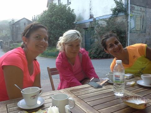 Carolin, Britta, Sarah