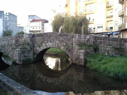 Híd az alberguéhez vezető úton.