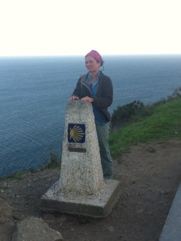 A magyar lány, akivel a kőnél összefutottam.