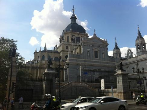 Madrid, katedrális